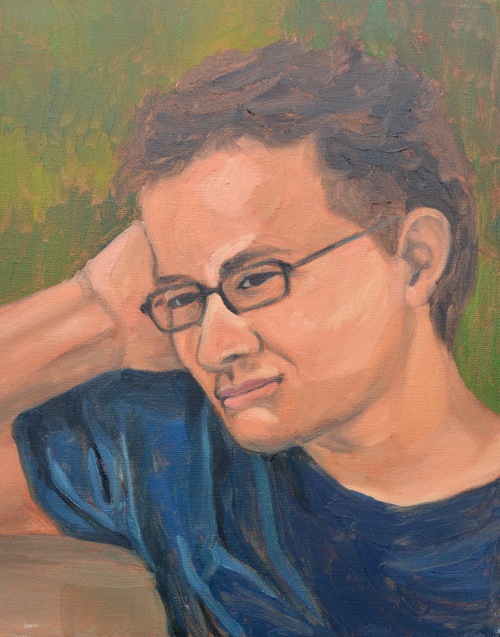 "Tim, 11x14"", oil on canvas, 2011"