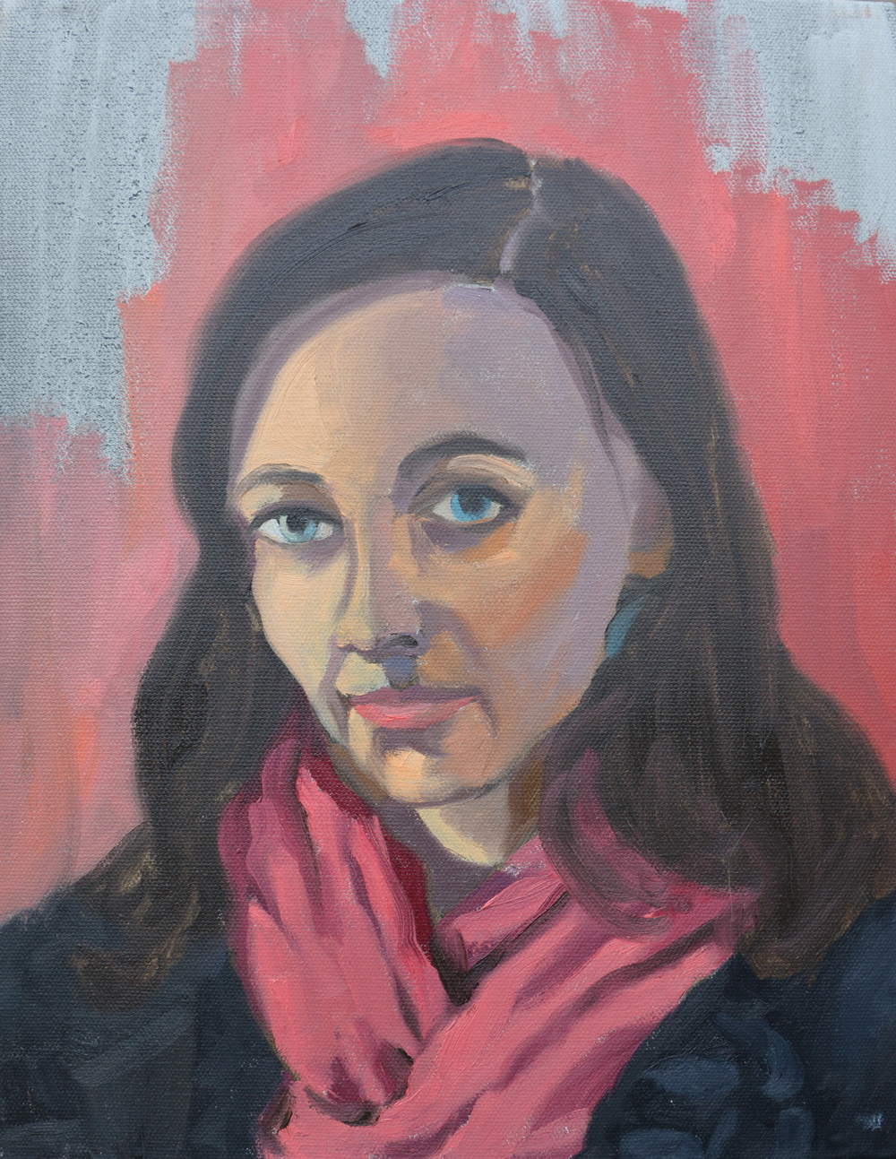 """Caylan, 11x14"""", oil on canvas, 2011"""