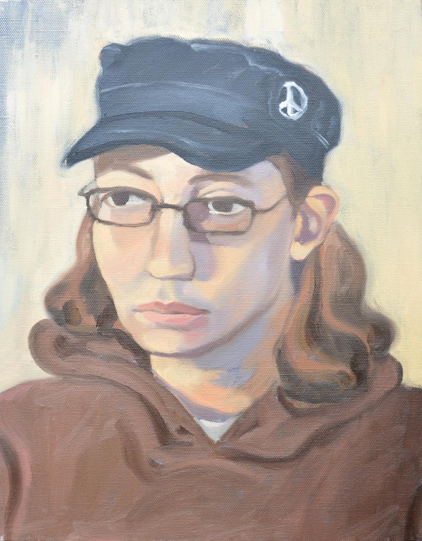 """Juliann, 11x14"""", oil on canvas, 2011"""