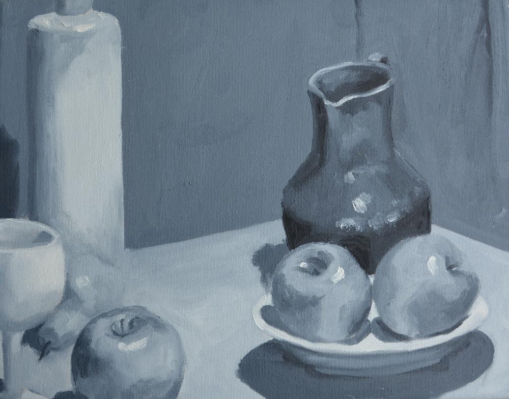 "Still Life, 14x11"", oil on canvas, 2007"