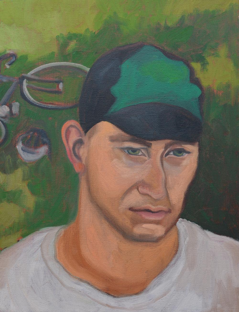 "Daniel, 11x14"", oil on canvas, 2011"