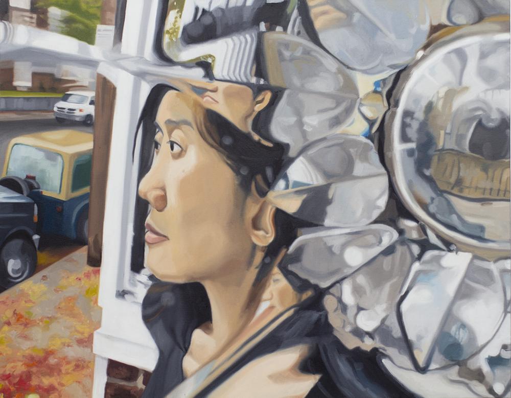 "Juliet, 30x24"", oil on canvas, 2011"
