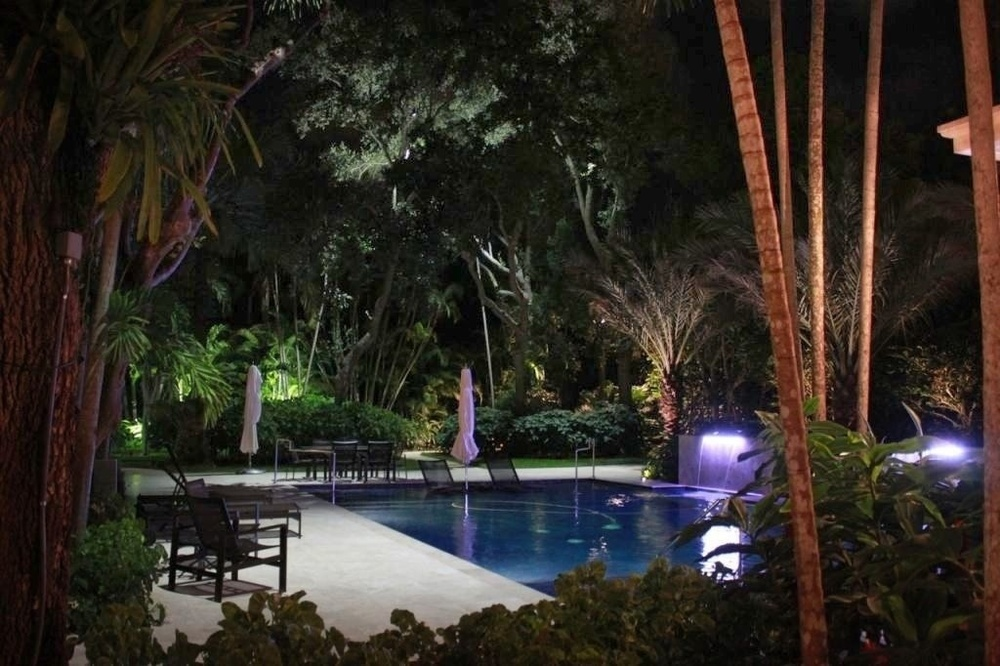 Premier outdoor lighting firm for fine homes throughout the country miami landscape lighting aloadofball Gallery