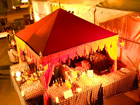 Raj Tents Pergola Bar AmfAR 2011 480