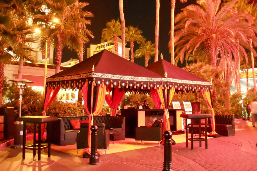 Raj Tents Black Pergolas Vegas