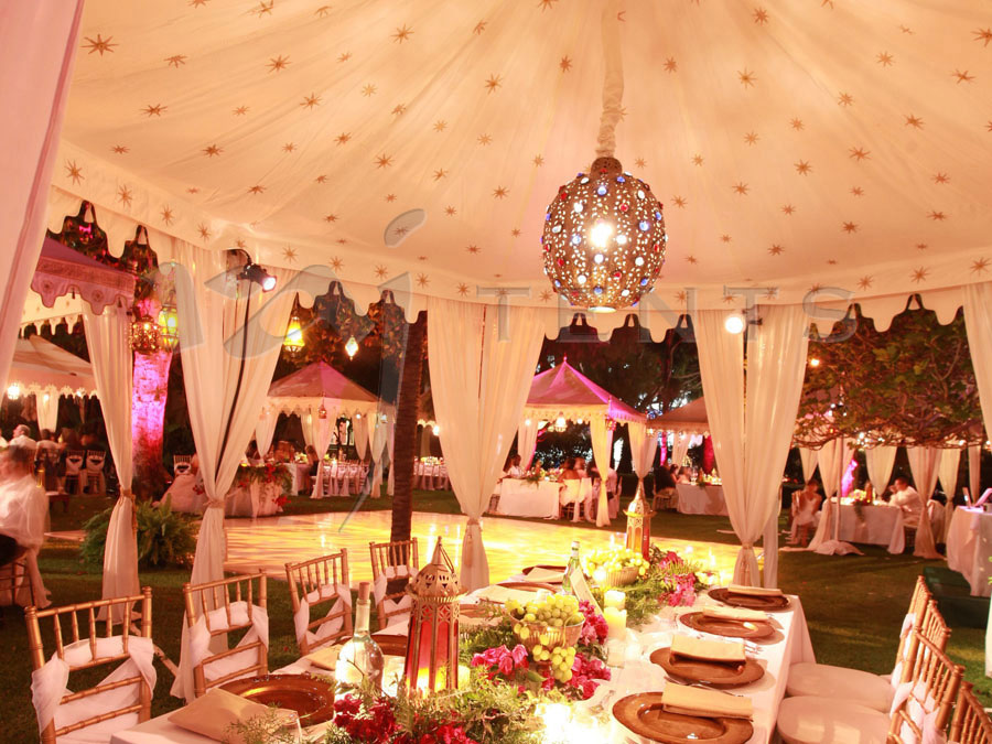 1.Multiple Tents My Fair Wedding Set