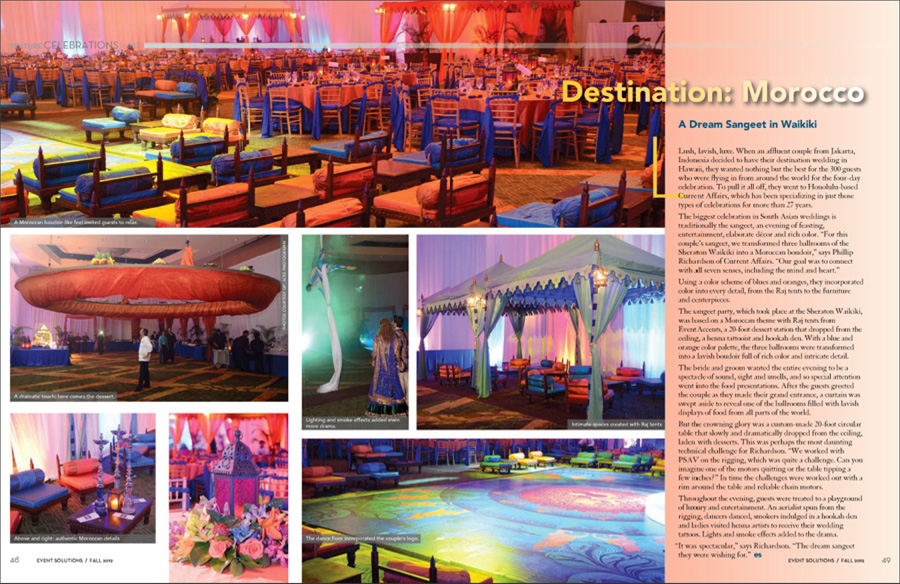 Event Solutions fall 2012 Feature