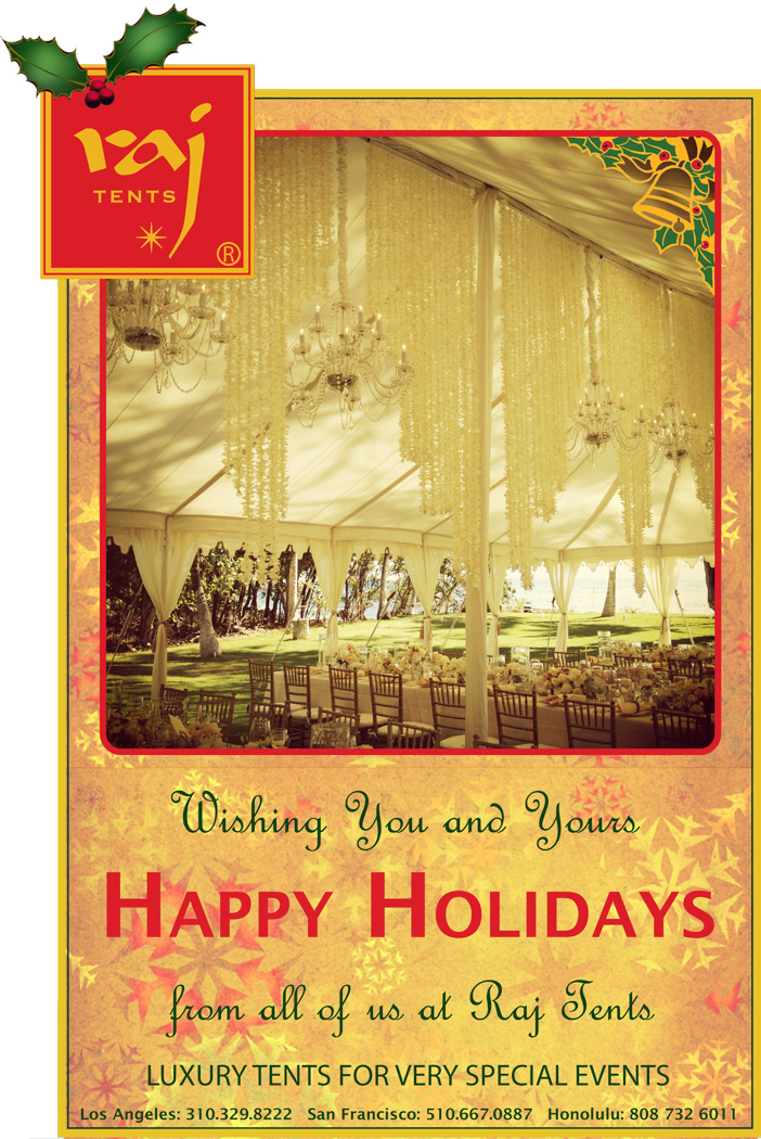 Raj Tents Christmas Card 2012