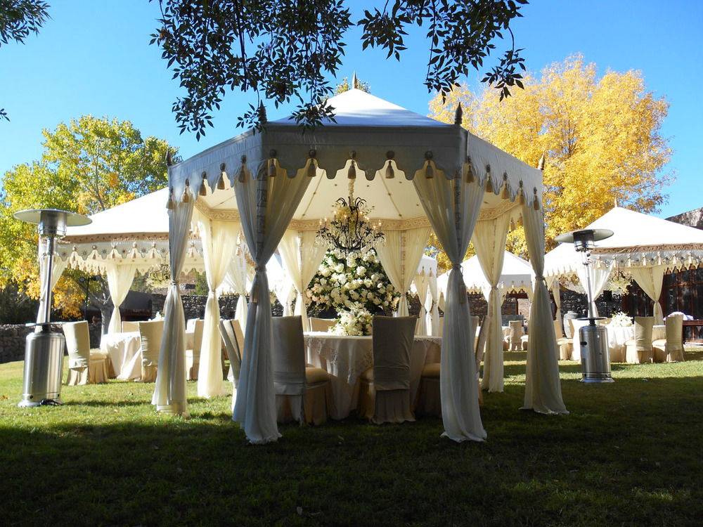 Classic wedding tents by raj tents add class and elegance for your wedding reception or ceremony