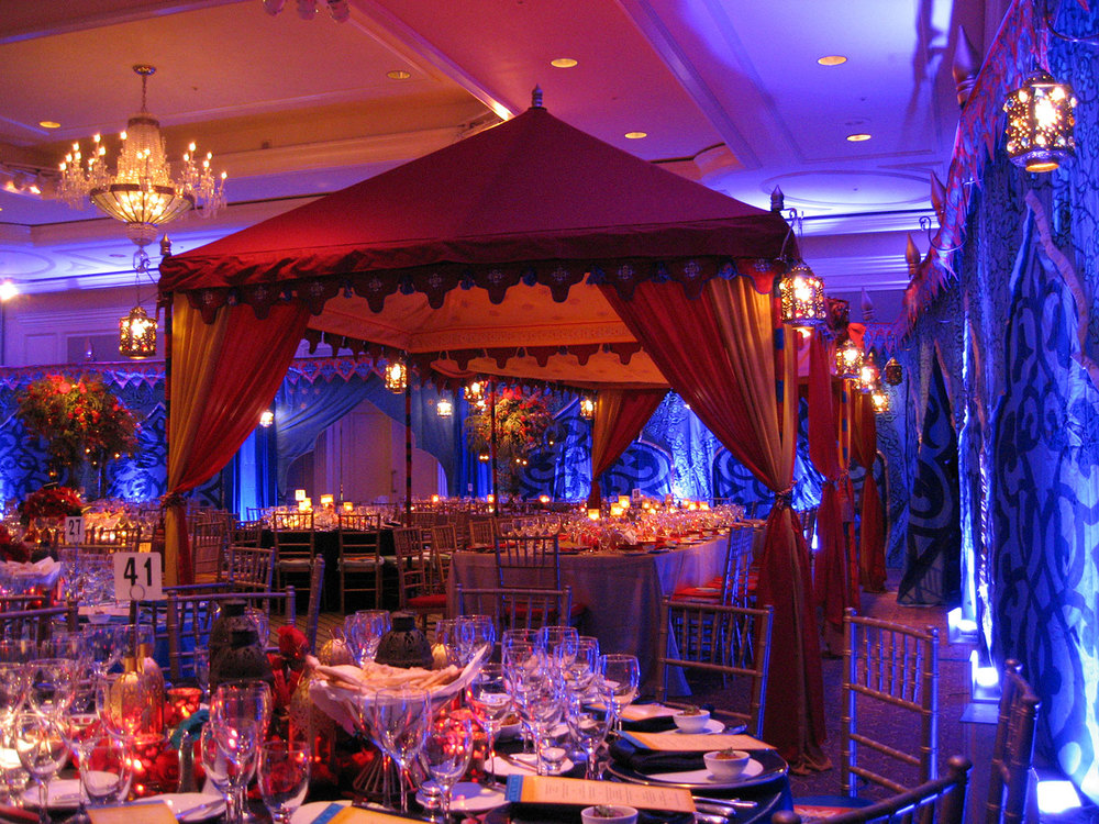 Raj tents luxury tent rentals los angeles pergolas for Arabian decoration