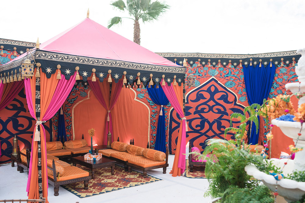 Indian kolam wedding