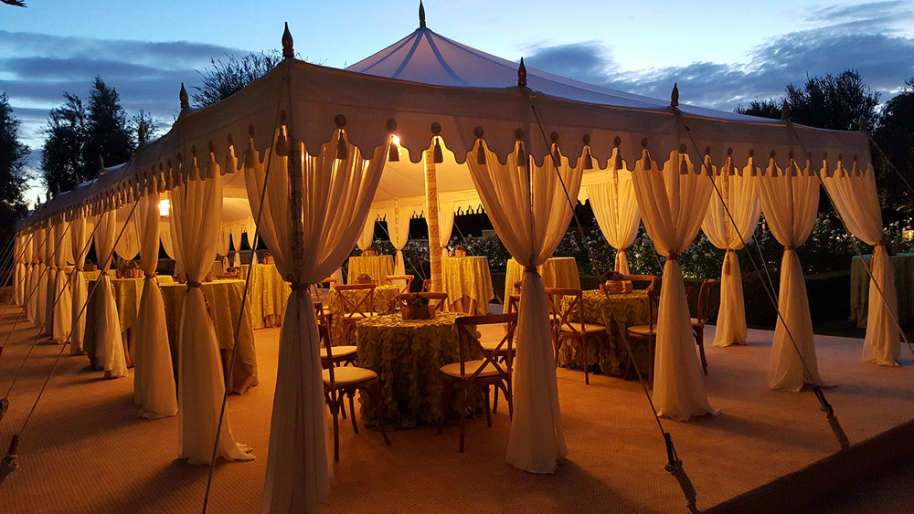 raj-tents-maharaja-cream-glow.jpg & Raj Tents u2014 Luxury Tent Rentals Los Angeles u2014 Maharaja - Pole tent ...