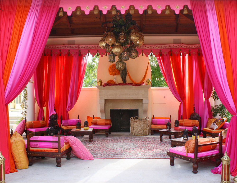 Delightful Raj Tents Furniture Hot Pink Lounge