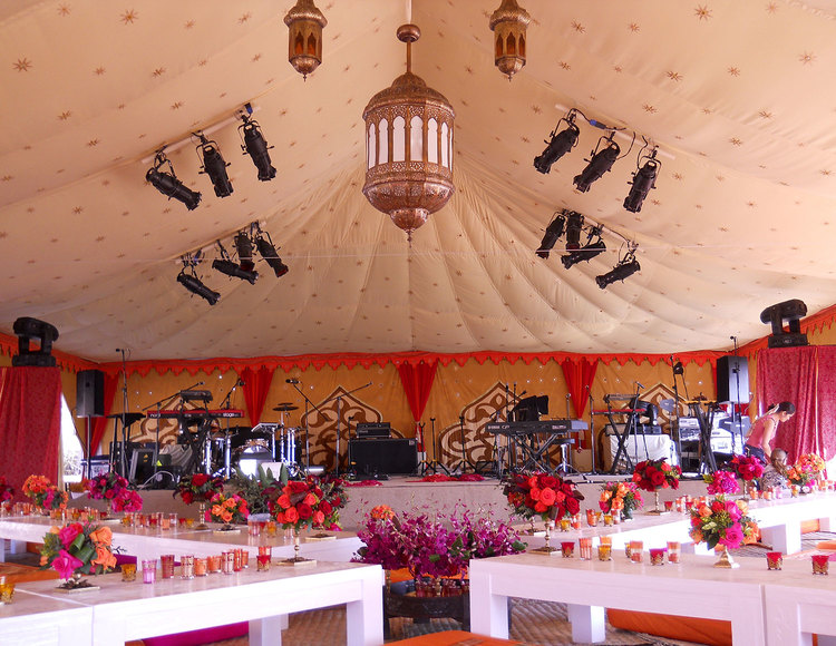 Raj Tents Destination Weddings Stage Setting