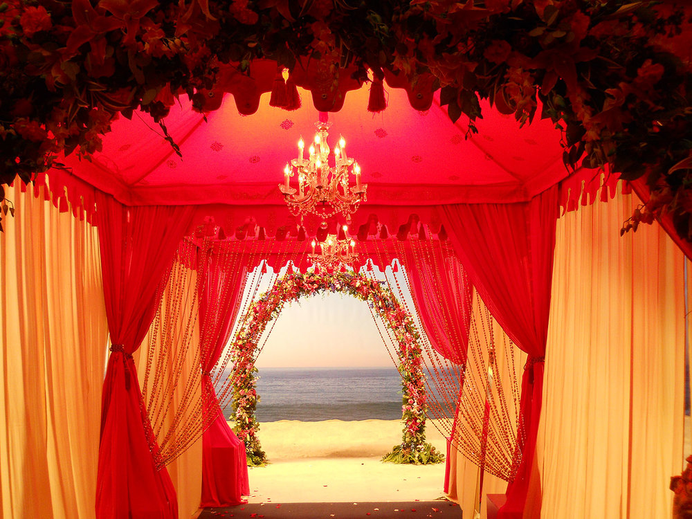 Raj Tents Indian Wedding Entrance