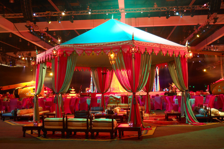 Grammys 2013 After Party Raj Tents Pavilion with lounge.jpg