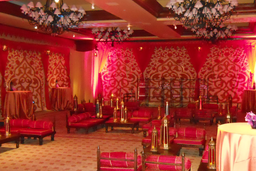 Mughal Arch ballroom transofrmation red and orange 2.jpg