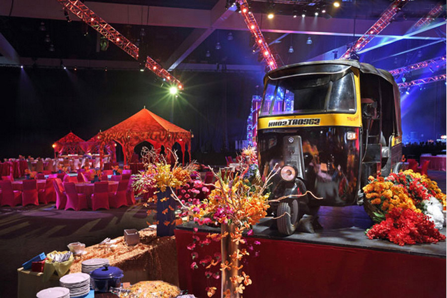 Passage To India Grammys 2013 Raj Tents1.JPG