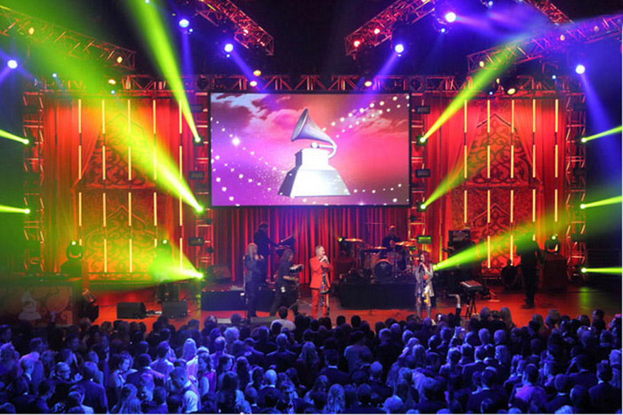 Passage To India Grammys 2013 Raj Tents2.JPG
