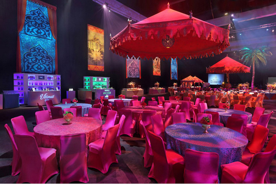 Passage To India Grammys 2013 Raj Tents3.JPG