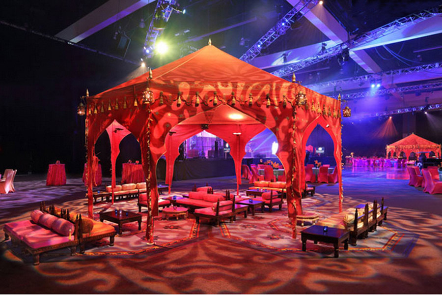 Passage To India Grammys 2013 Raj Tents4.JPG