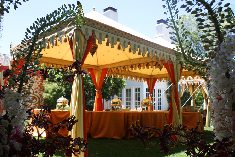 Raj Tents Indian Themed Buffet Luxury Tent.JPG