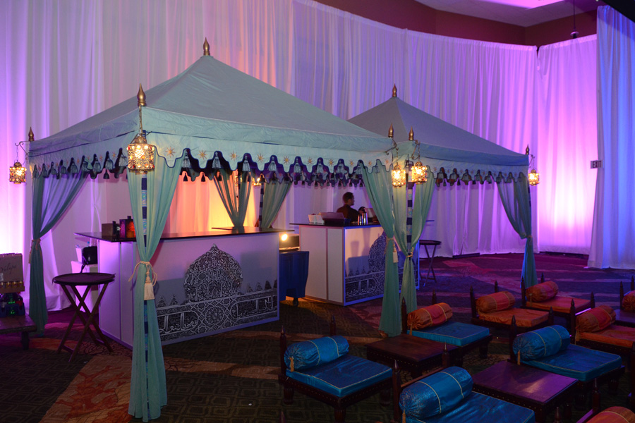 Raj Tents Double Pergola Luxury Bar with lounge furniture.jpg