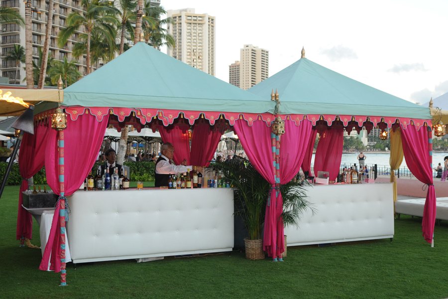Raj Tents Double Pergola Luxury Bar Tent Honolulu.JPG