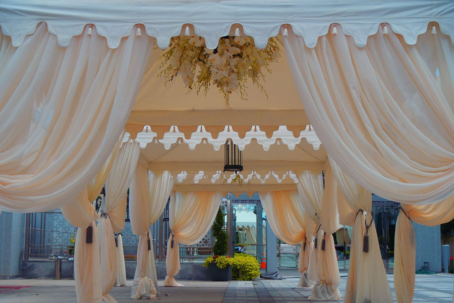 Raj Tents Luxury Cabana UAE Embassy draping.jpg