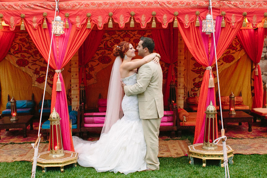 Victoria and Dave under Raj Tent.jpg