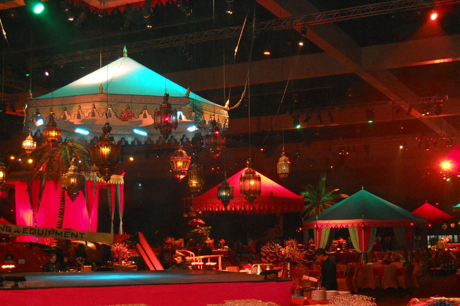 Grammys 2013 After Party Raj Tents installation 2.jpg