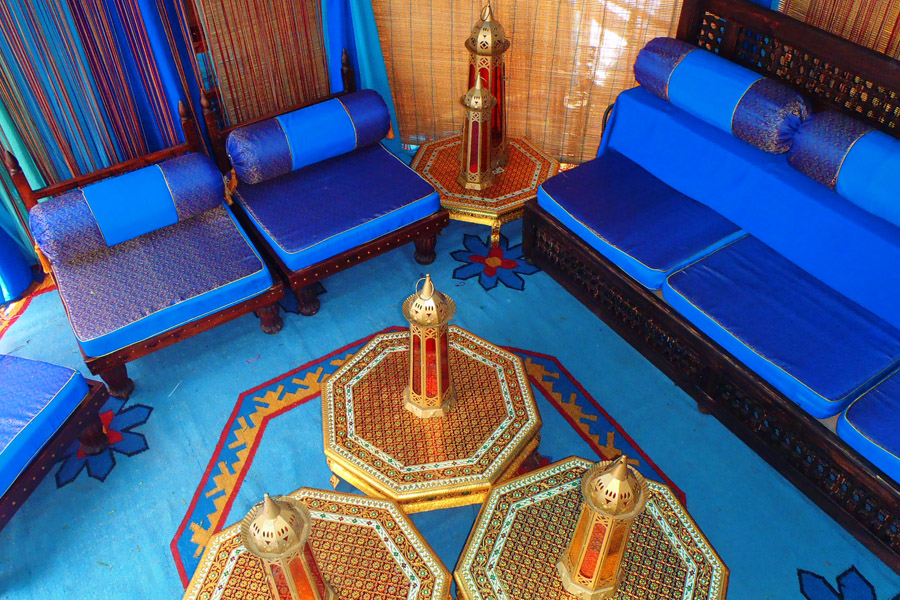 Blue silk raj tents furniuture lounge.jpg