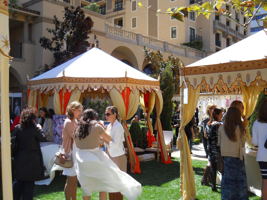 Pavilions and Pergolas at Unveiled LA April 2012.jpg