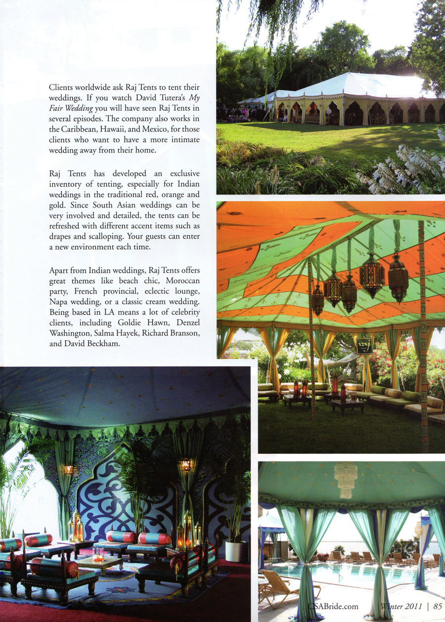 Raj Tents page 3 feature California South Asian bride winter 2011.jpg