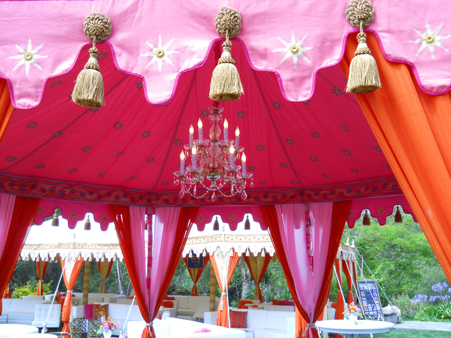 Raj Tents luxury tent installation detail WIPA Malibu 2011.jpg