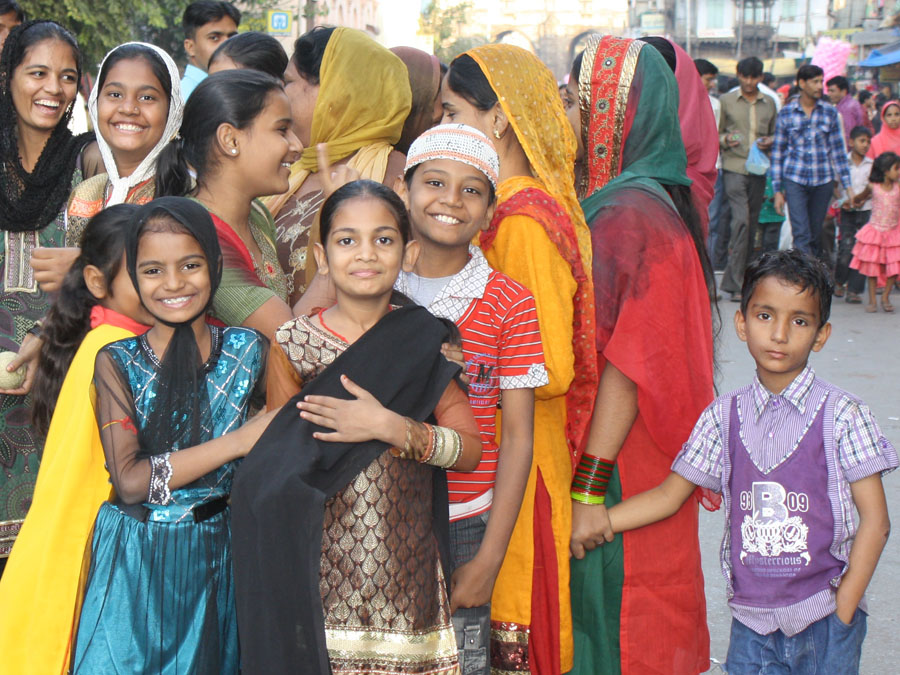 Family during Muharram Festival in Ahmedabad.jpg