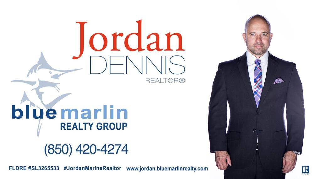 Jordan Dennis from Blue Marlin Realty Group