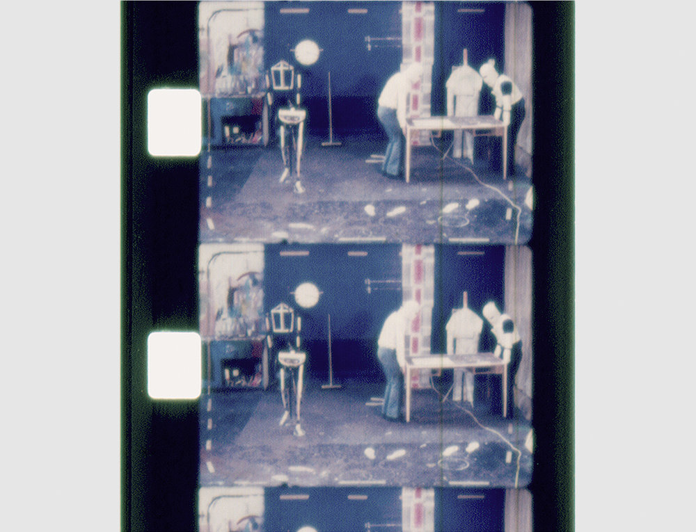Factory reconstruction. Super 8 film. 1974