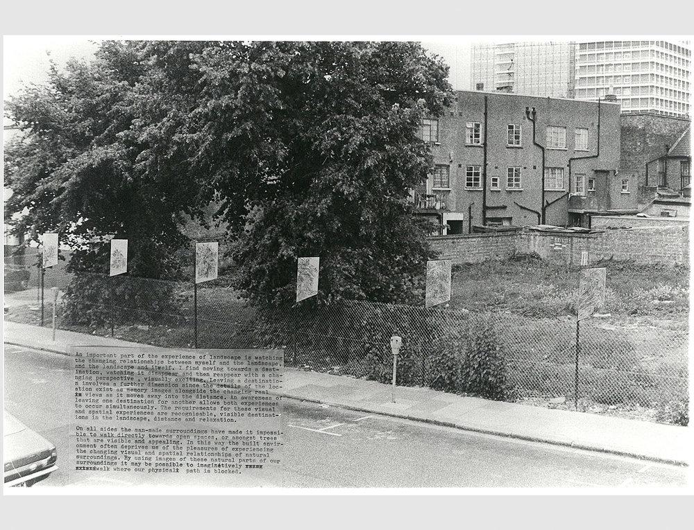 Freston Road Landscape Project.Collage.1978