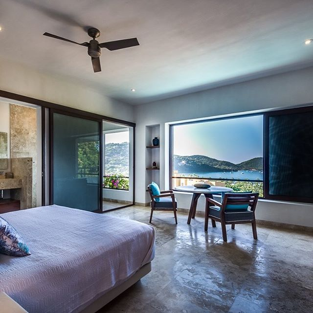 The perfect bedroom to spend all morning in #tmrealestate — www.tmrealestate.mx