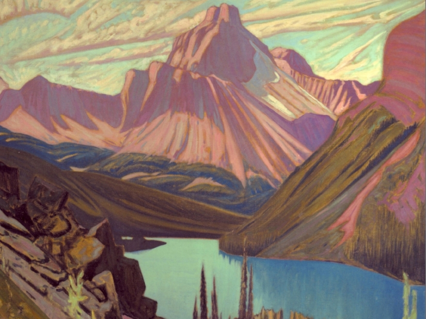 the paintings of Lawren Harris
