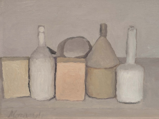 the paintings of Giorgio Morandi