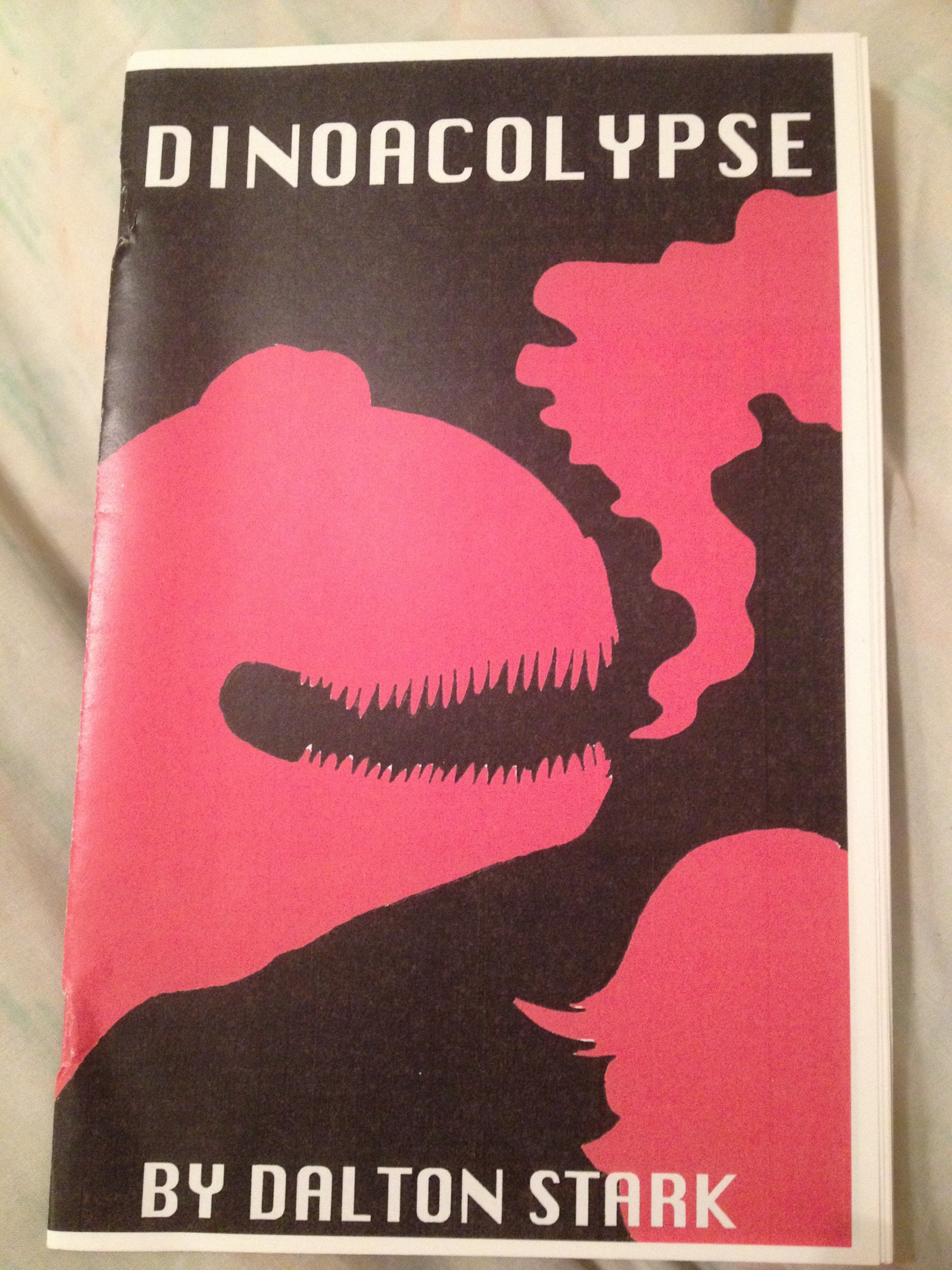 Cover to Dalton Stark's Dinoacalypse comic