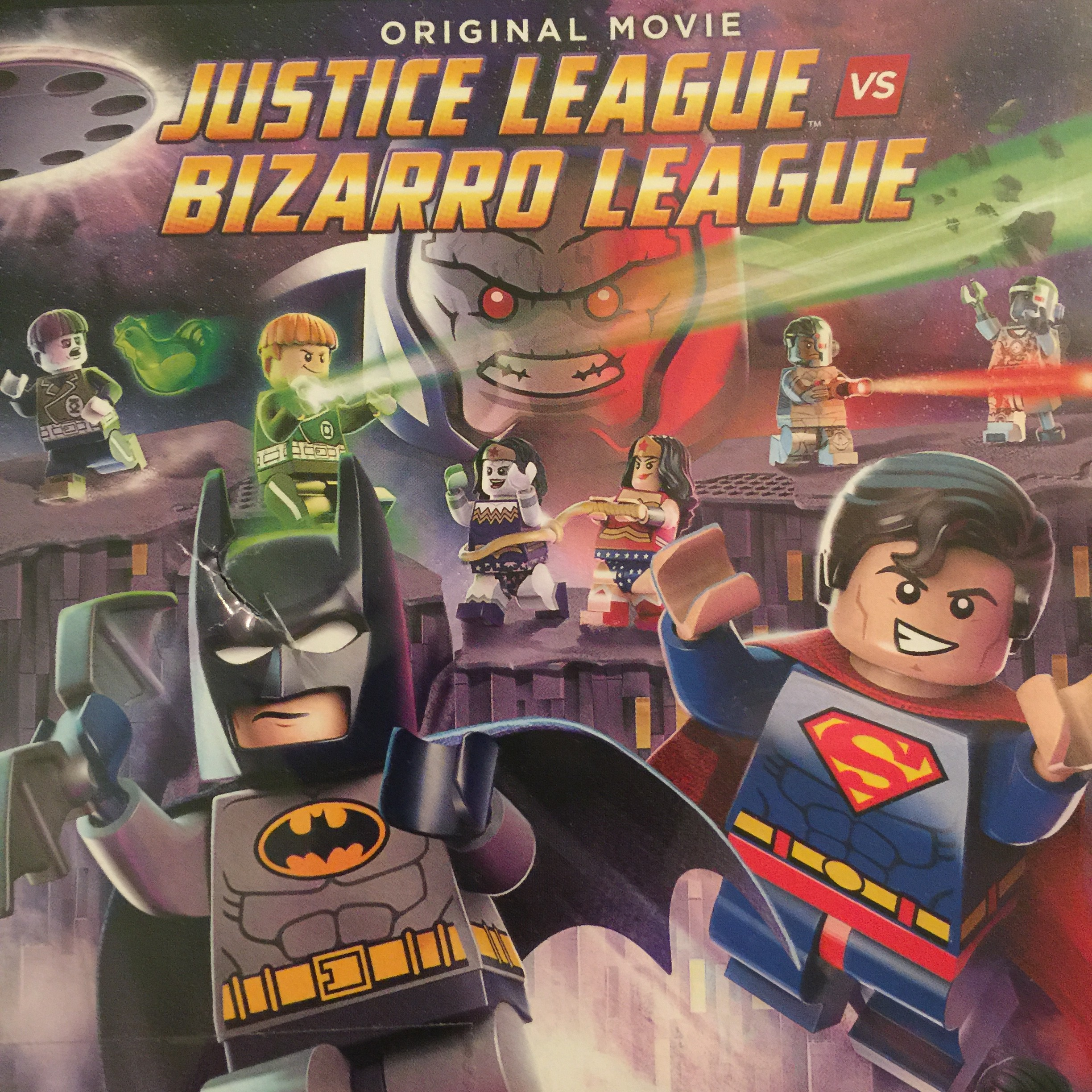 Justice League vs Bizarro League