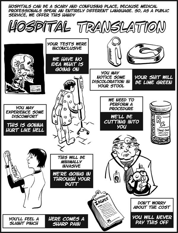 hospital translation