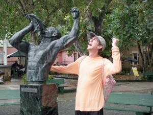 St John Freedom statue