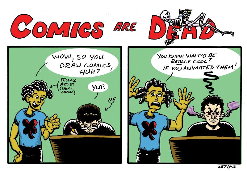 Comics are Dead