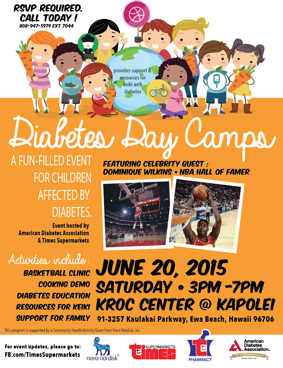 Diabetes Kids Day Camps — TIMES PHARMACY