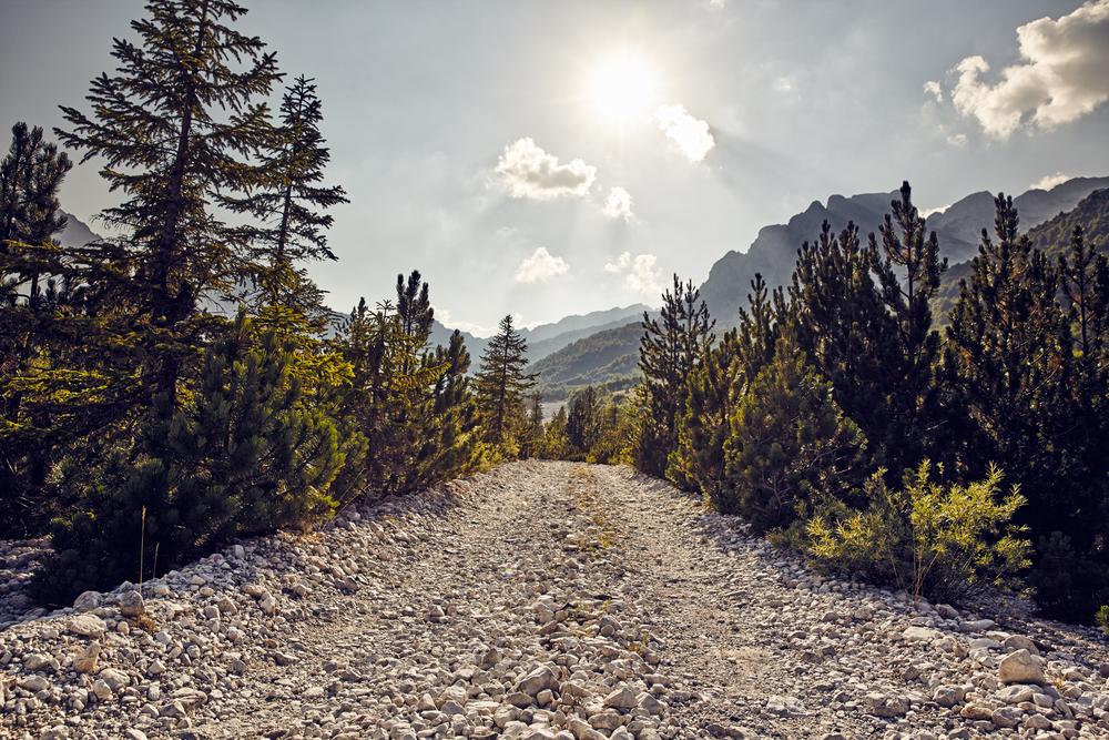Albanien, Valbona Tal