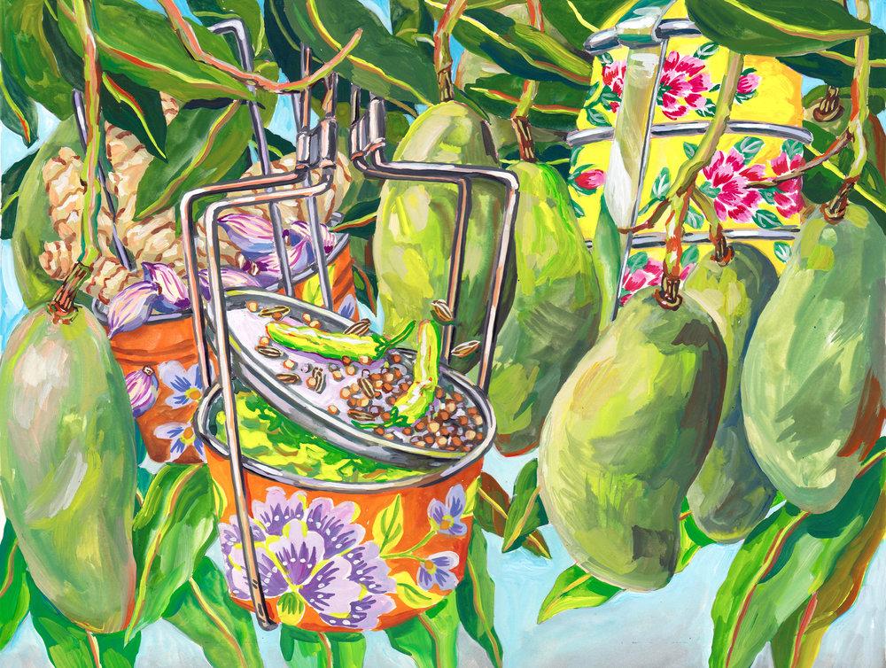 Green Mango Chutney